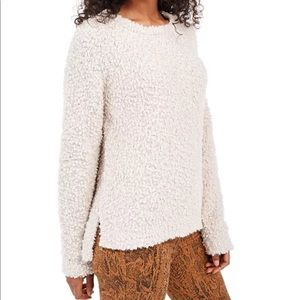 Magic Stone Textured High-Low Sweater